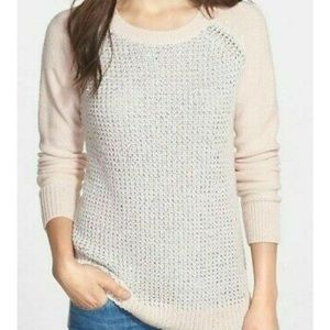 NYDJ Sequin Pixie Pink Sweater Plus Size NWT